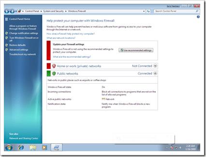 How to Configure Windows 7's Firewall