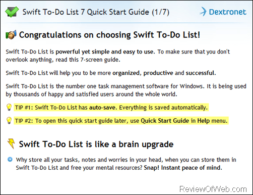 To-Do List Software Review – Swift To-Do List 7 + 25% Discount Code