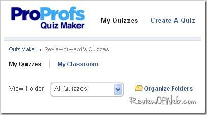 start-proprofs-quiz-maker